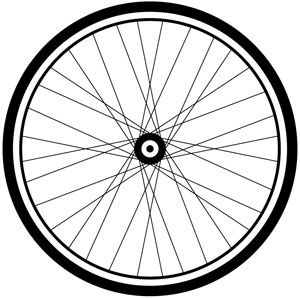 Bike panda free images. Wheel clipart bycycle
