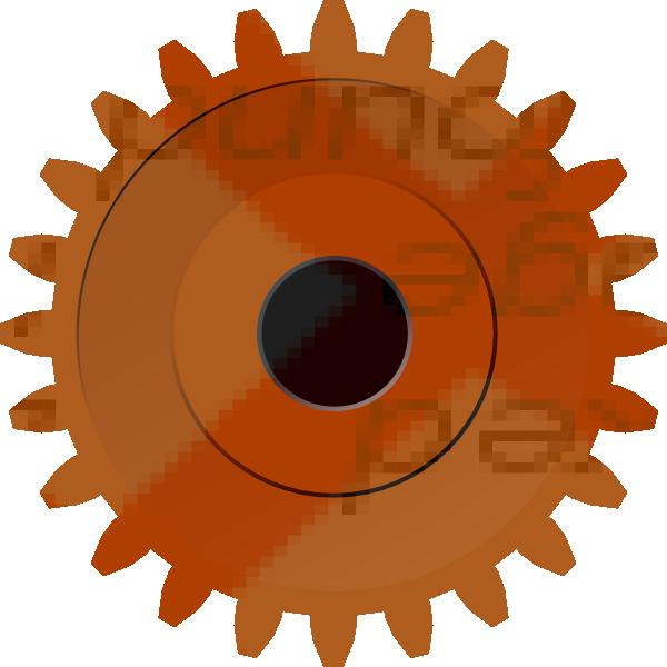 Steam Gear Clip Art at Clker