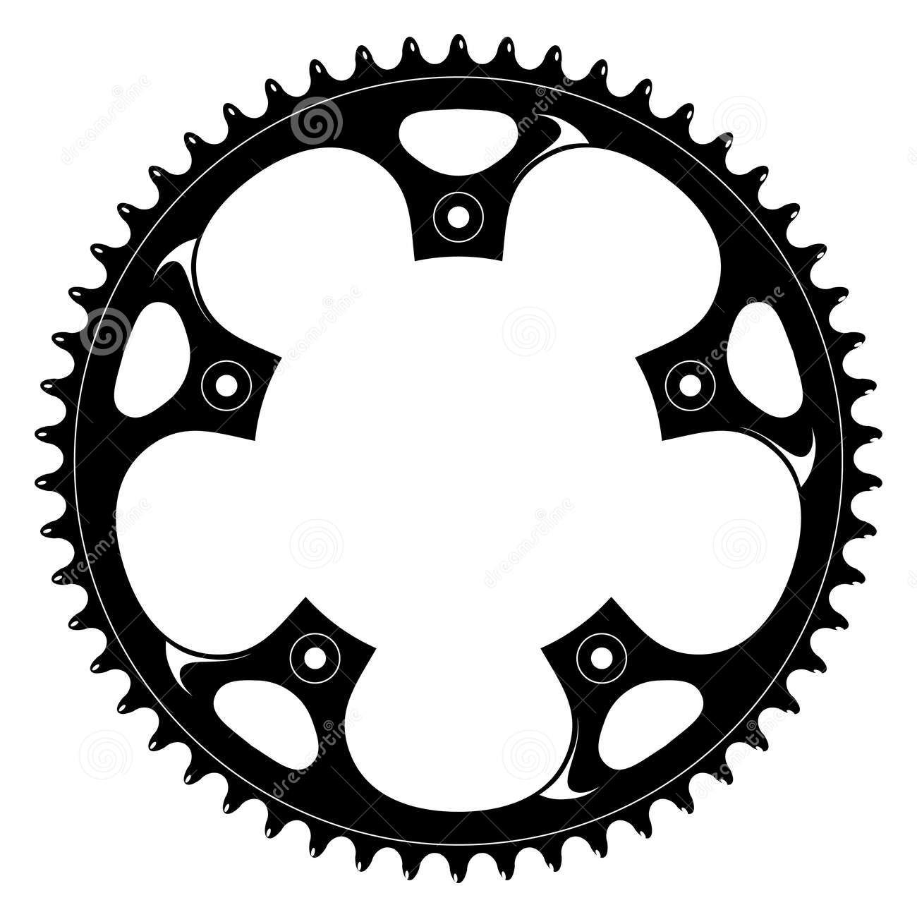 Steampunk clipart bike gear. Gears bicycle bicycles tattoos
