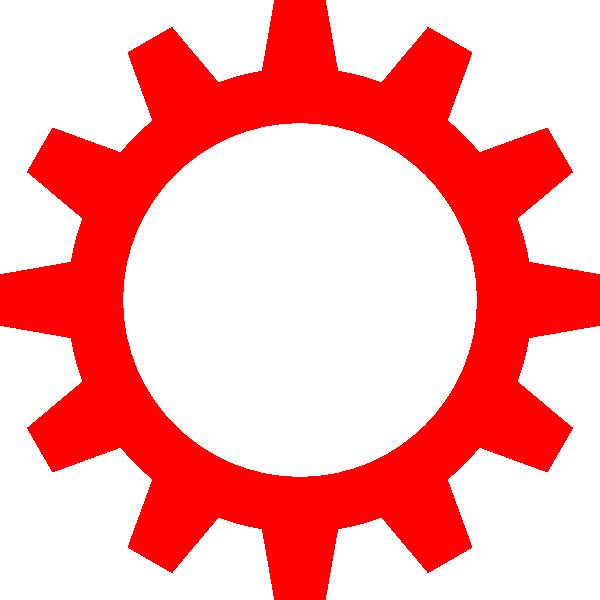 Cogwheel symbol clip art. Steampunk clipart cog
