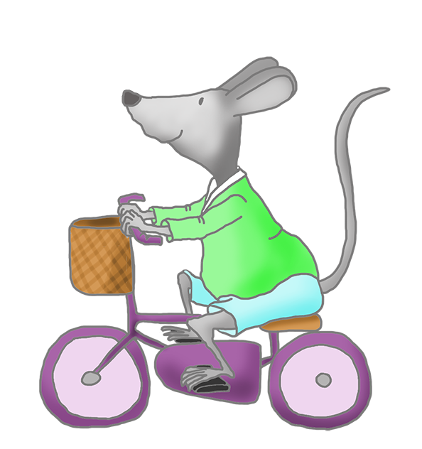 Mouse clipart three blind mouse. Clip art with green