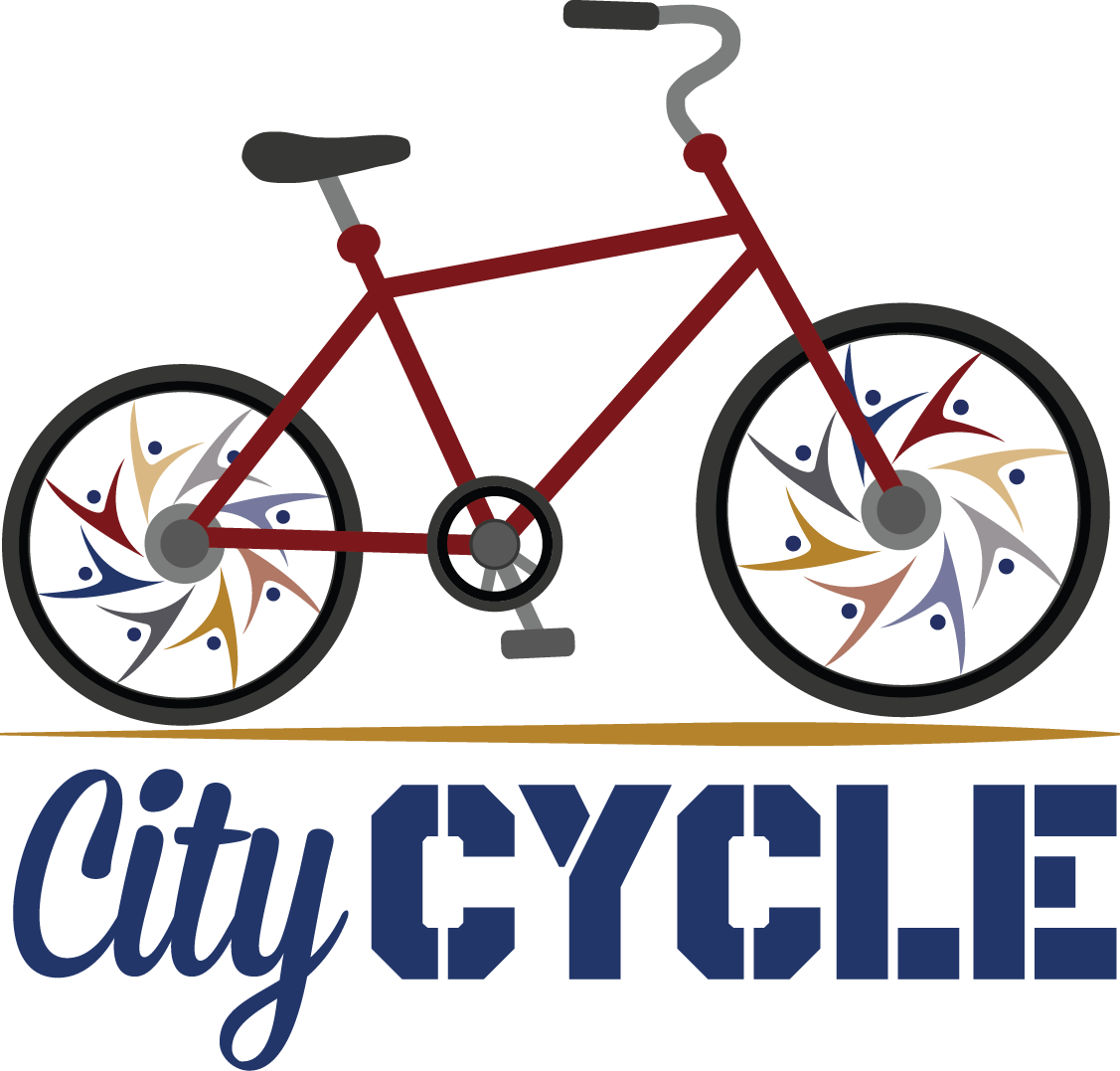 Cycle clipart name. City bike share of