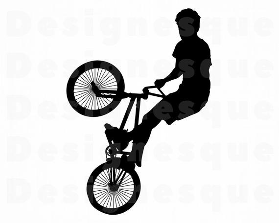 Clipart bicycle cycle stunt. Bike svg bmx files