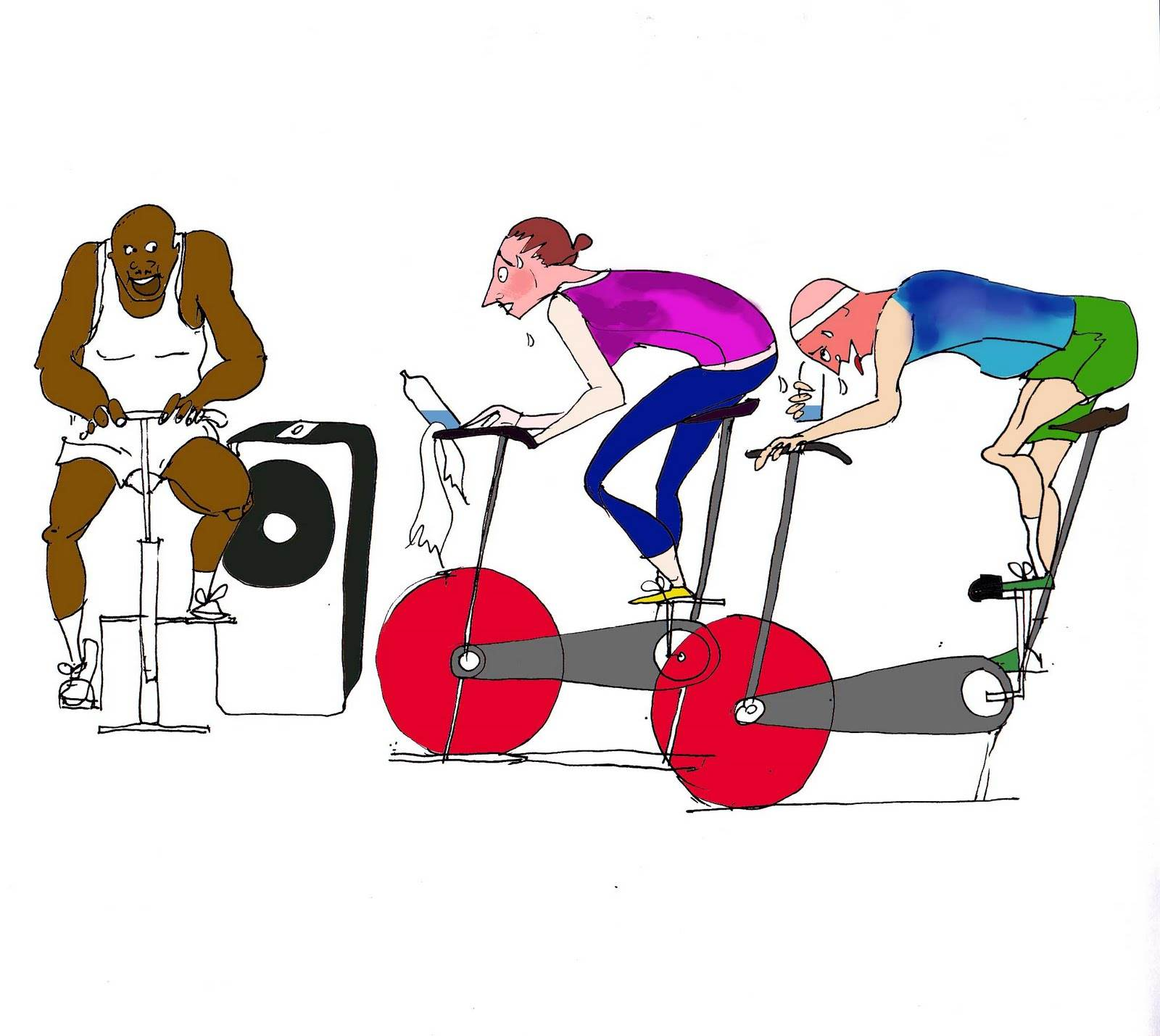 Clipart bicycle cycling class. Free spin cliparts download