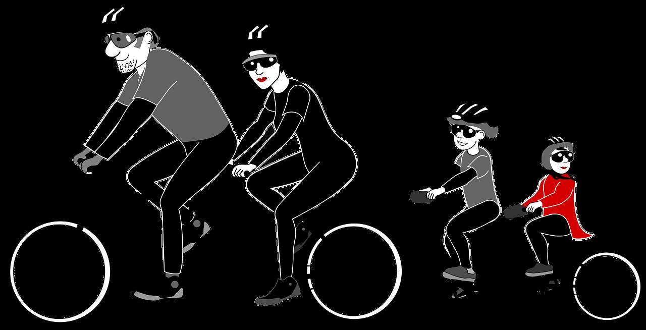 Clipart bike bike rider. Stanford study seeks to