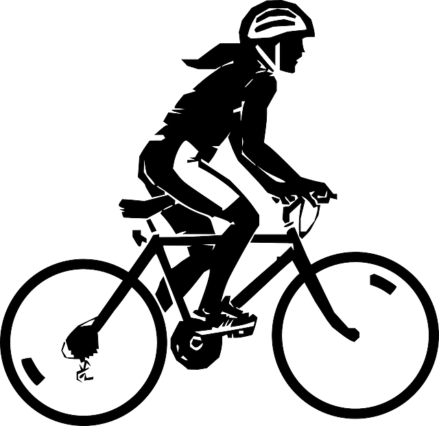 clipart bicycle cycling exercise