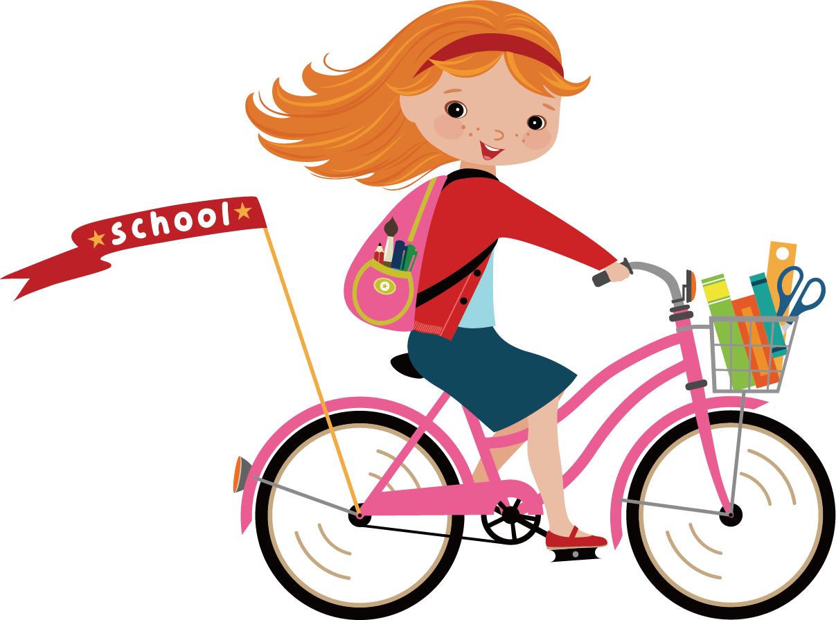 Cycling clip art little. Clipart bicycle cyclist