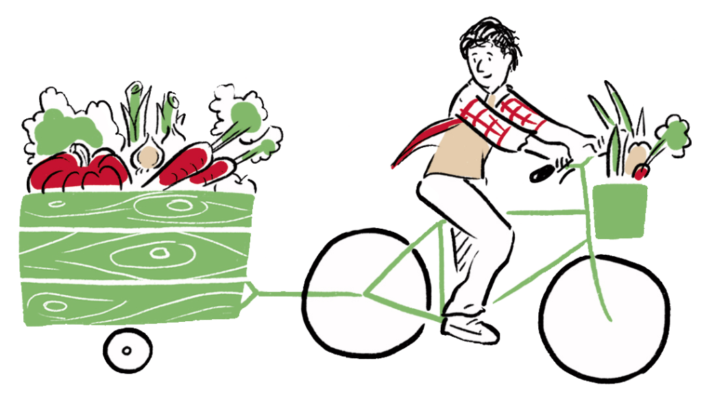 Cycle sustainability service. Fast clipart fast bicycle