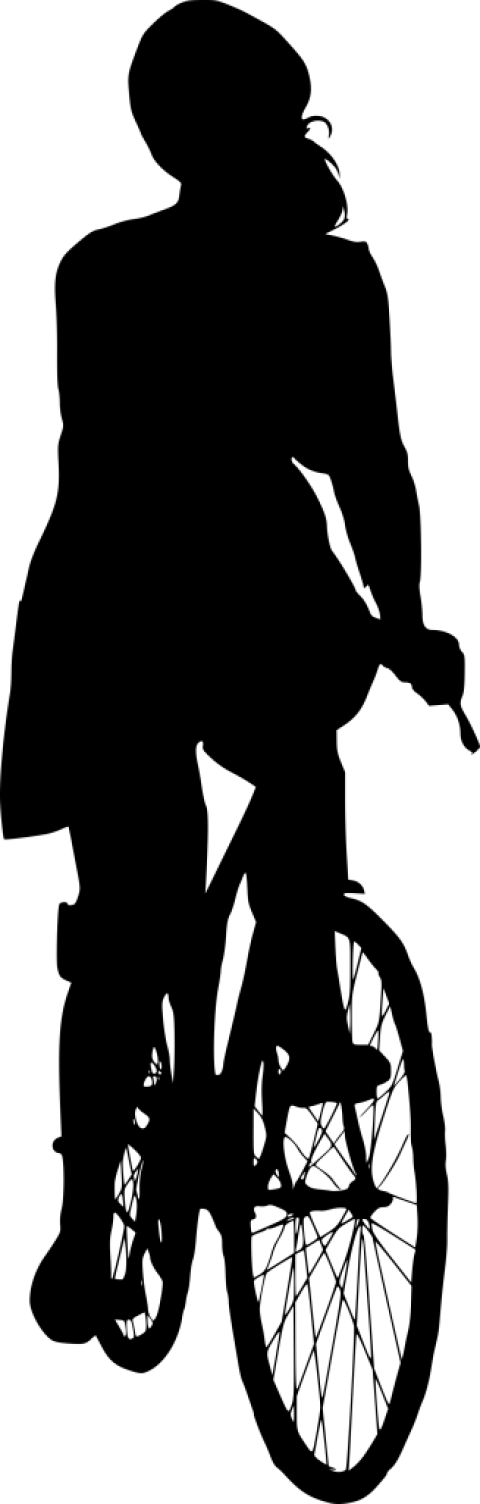 Ride view png free. Clipart bicycle front