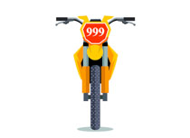 Clipart bicycle front. Free motorcycle clip art