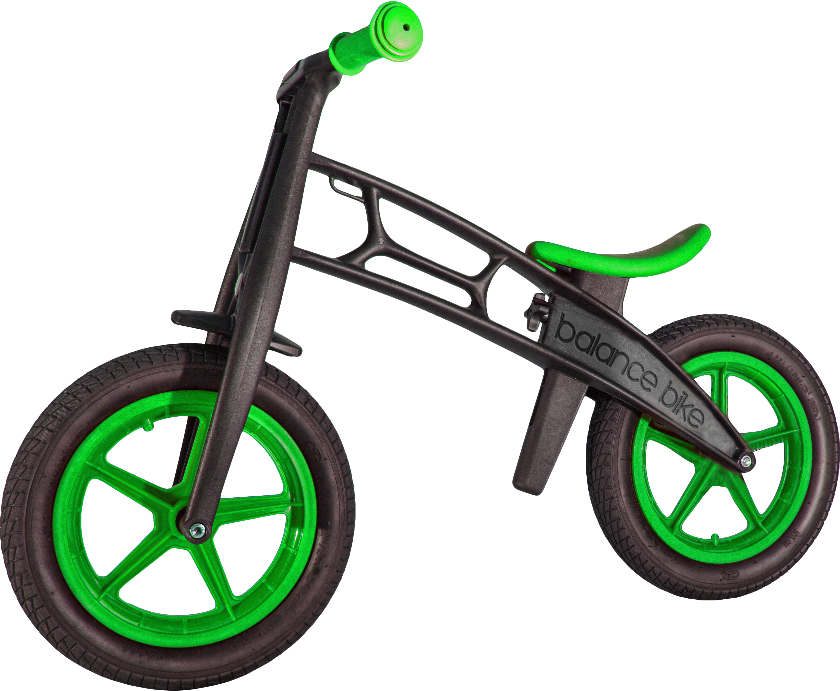 Clipart bicycle green bike. Balance zompers available