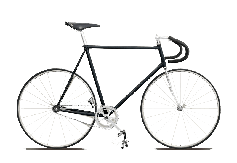 Clipart bicycle hipster. Fixie bike transparent png