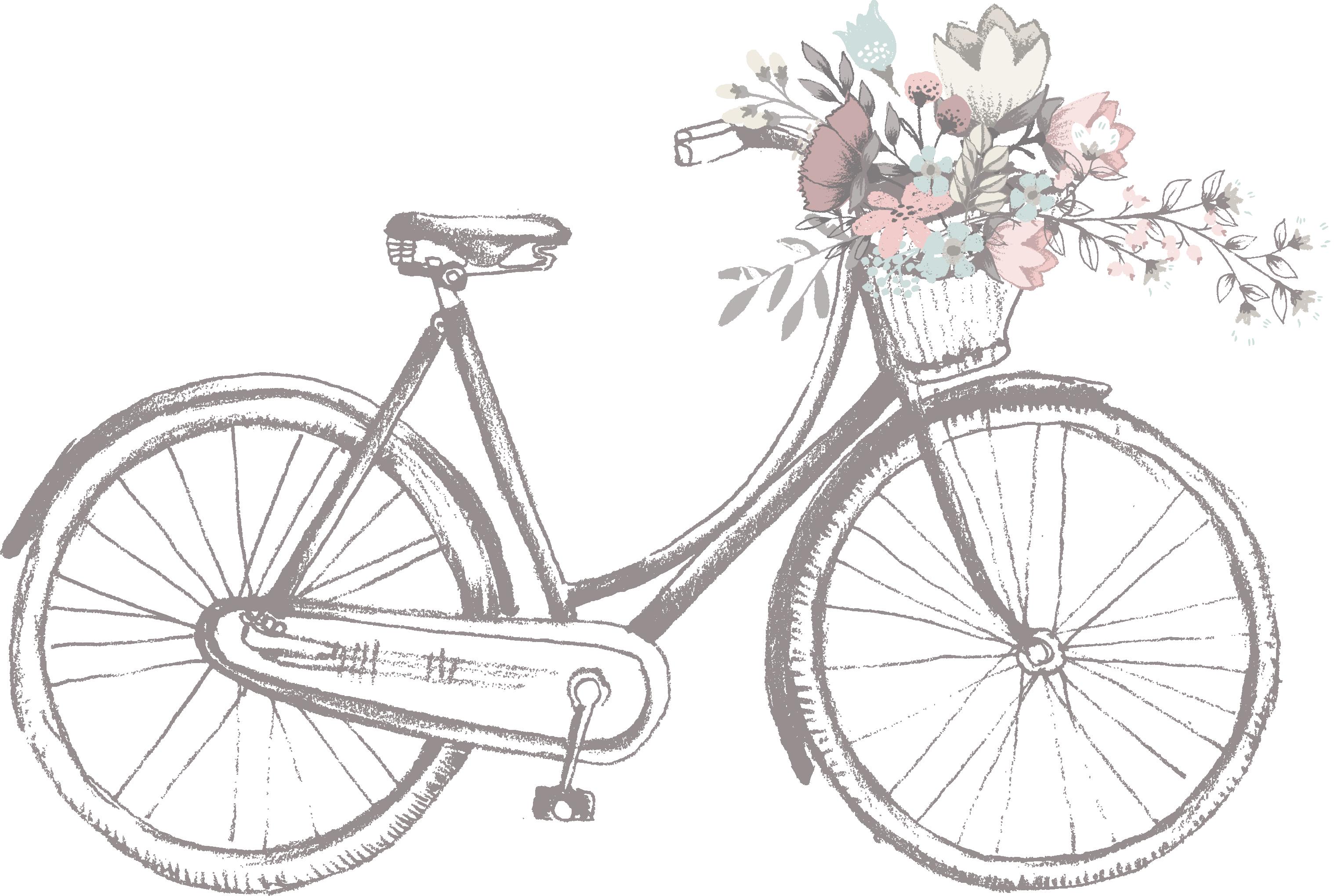 Clipart bicycle land transportation. Wedding invitation clip art
