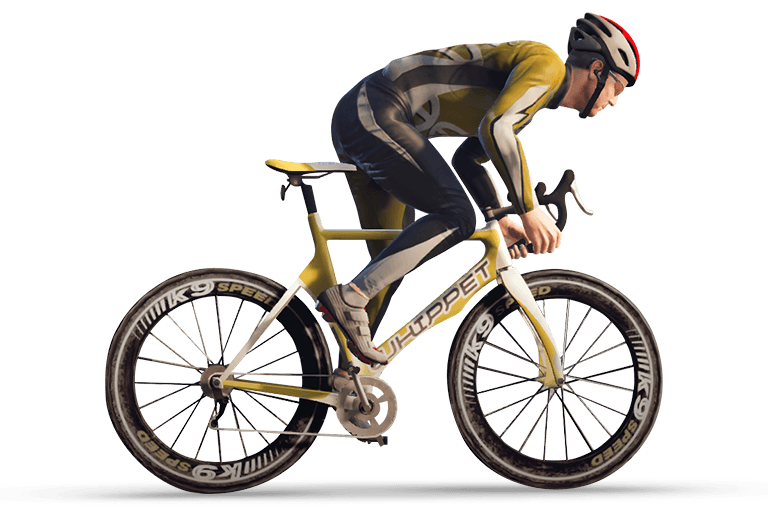 On bicycle transparent png. Clipart bike man