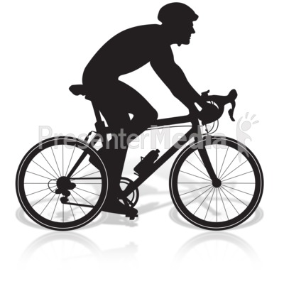 Clipart bike man. Bicycle riding presentation great