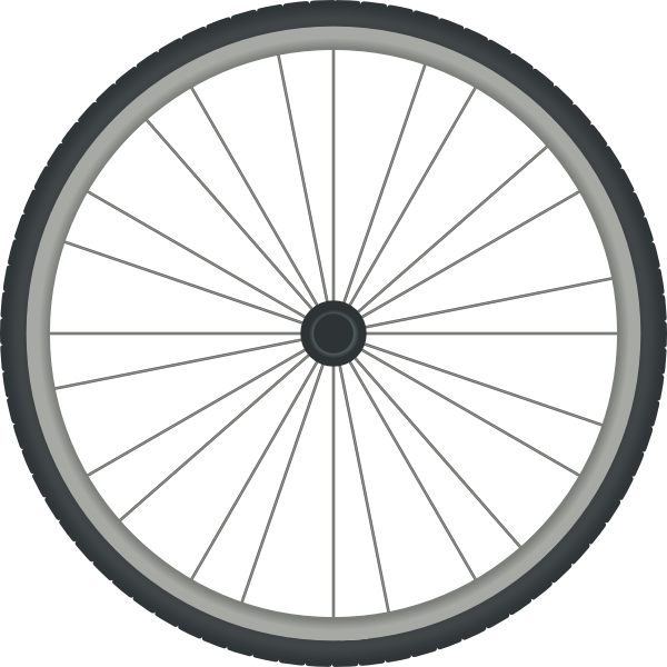 Clipart bicycle motorbike. Bikewheel clip art at
