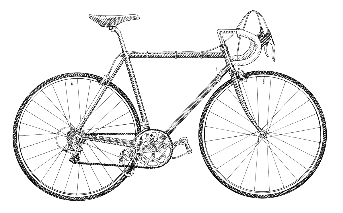 collection of school. Clipart bicycle old fashioned