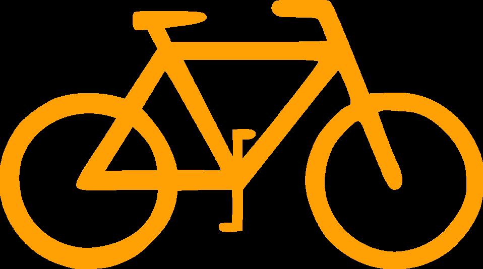 Bike orange