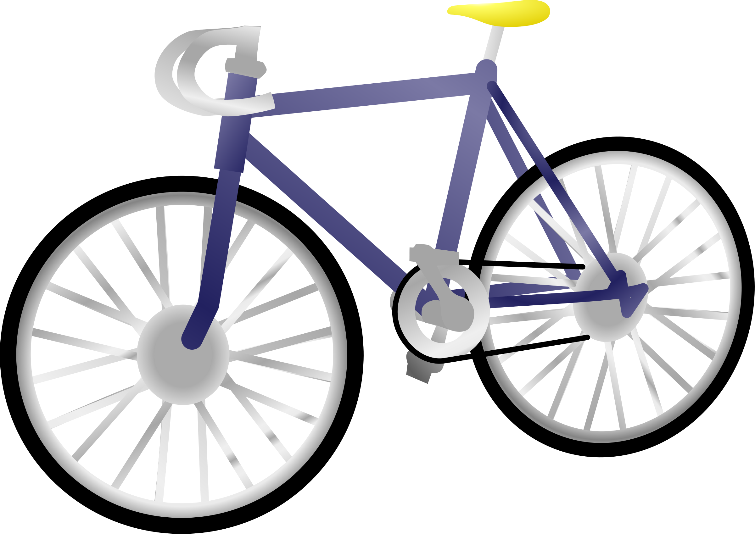 Cycle clipart vehicle. Single speed bicycle big