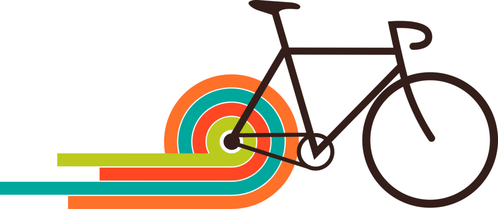clipart bicycle rally