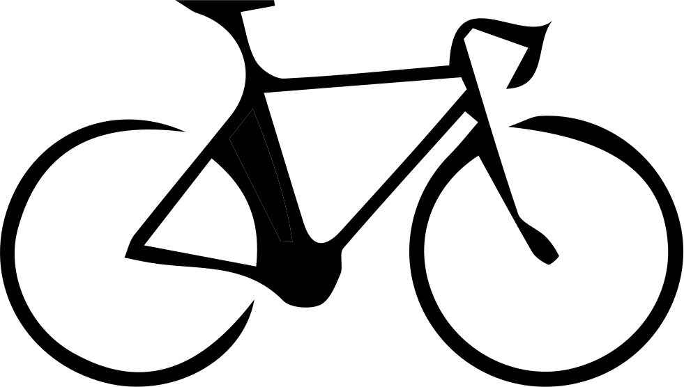 Bicyc svg png icon. Clipart bicycle road bike
