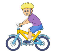 Free bike ride cliparts. Clipart bicycle rode
