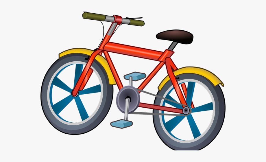Bicycle birthday party . Clipart bike small bike