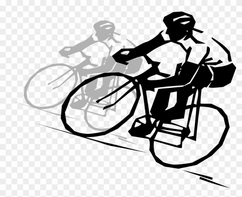 Cycling cyclingdrawing hd png. Clipart bicycle sport