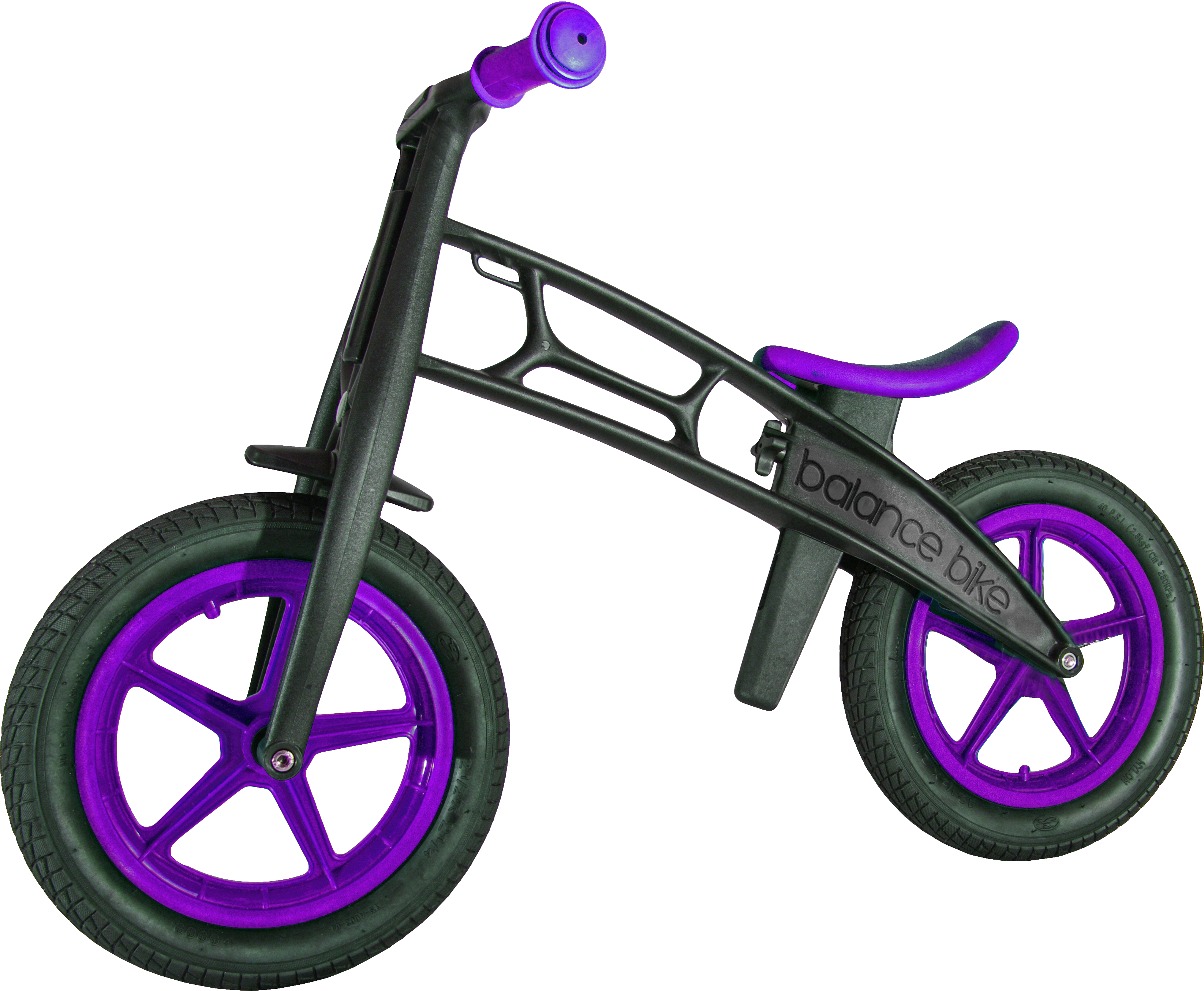 Balance zompers available . Clipart bike purple bike
