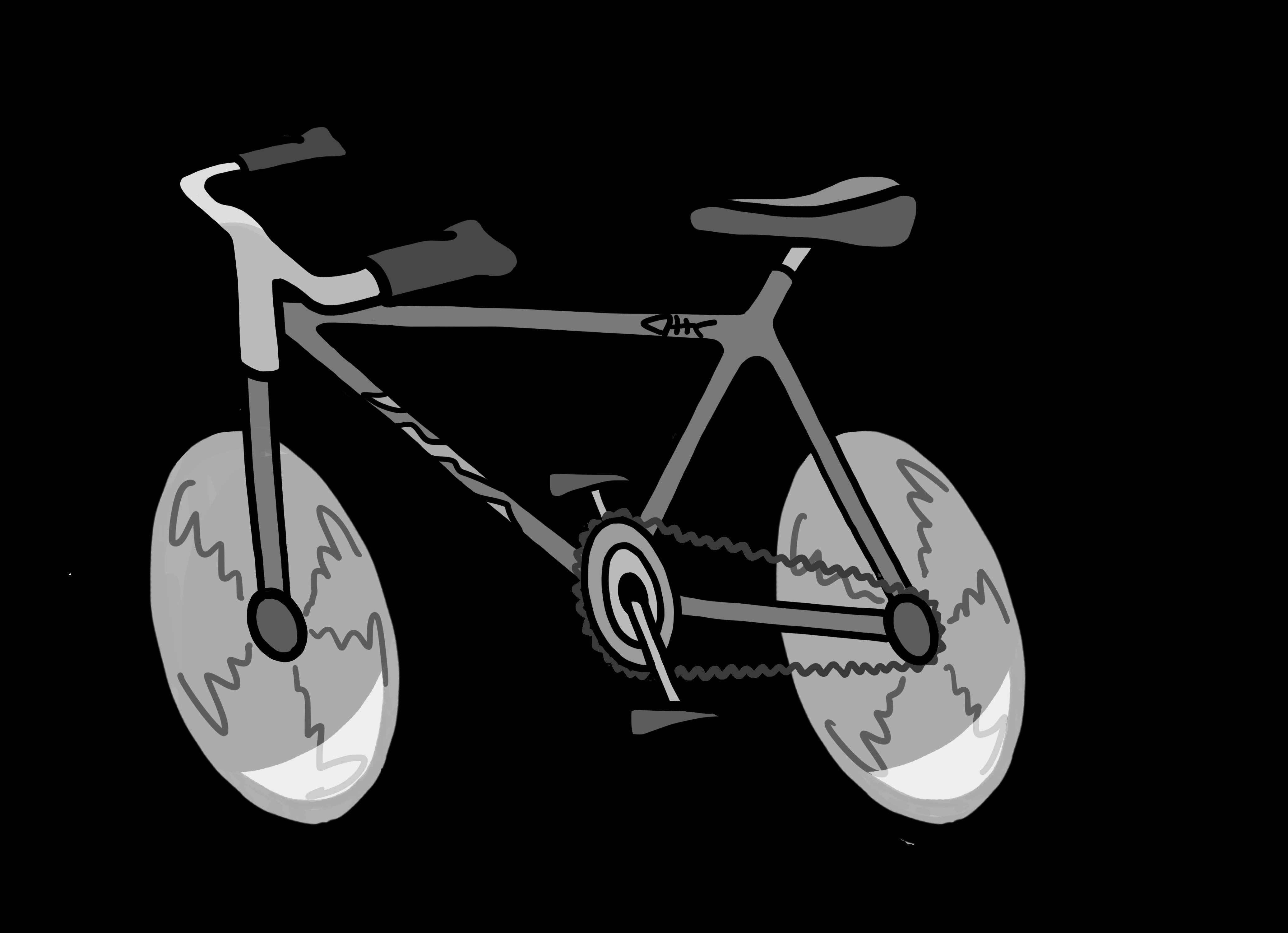 Clipart bicycle transportation. Clipartblack com free black