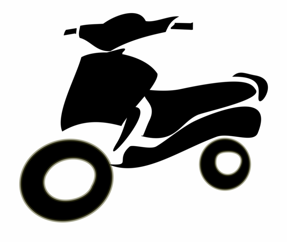 Scooter motorcycle download . Clipart bicycle two wheeler