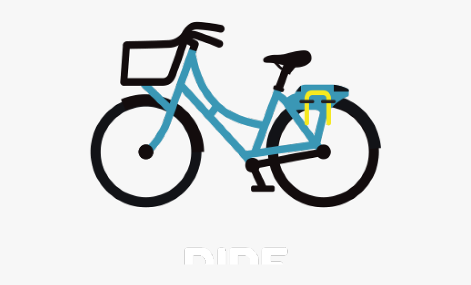 Cycling grid bike share. Clipart bicycle two wheeler