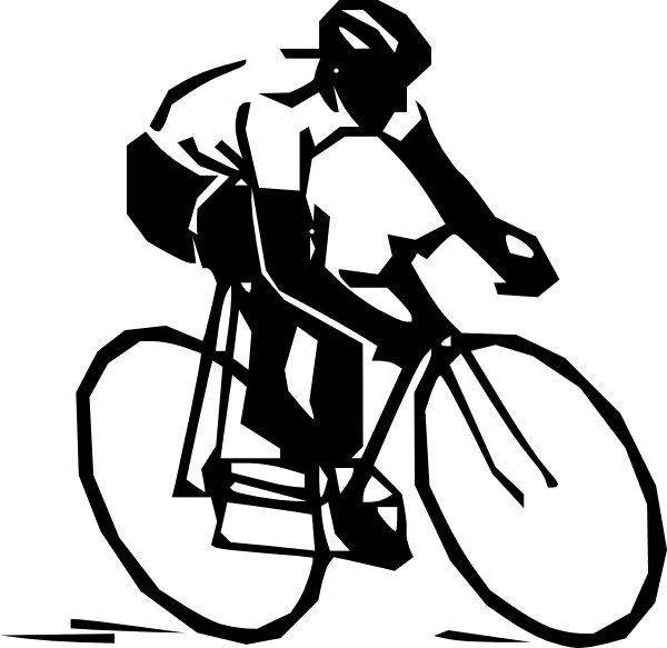 Route clip art at. White clipart bike