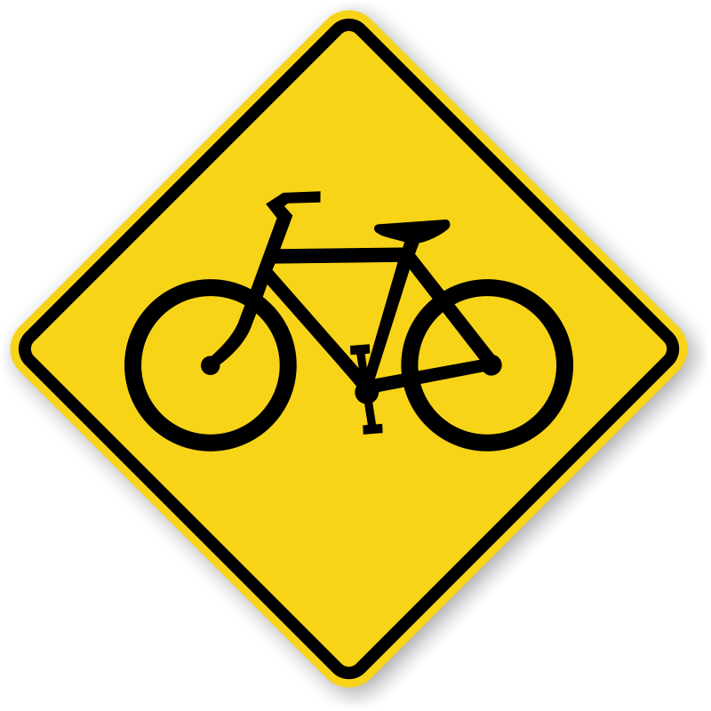 Telephone clipart windows metafile. Bicycle crossing signs fluorescent