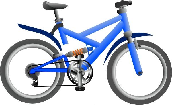 Clipart bike. Clip art free vector