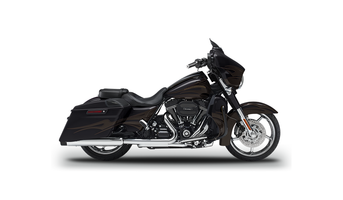 cvo custom bagger. Motorcycle clipart street glide
