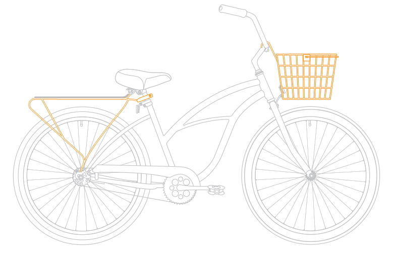 Clipart bike beach cruiser. Women s single speed