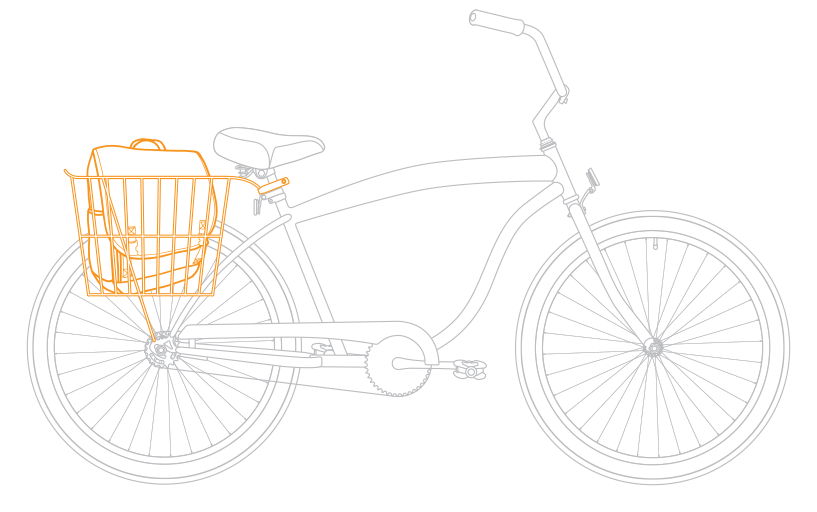 Men s single speed. Clipart bike beach cruiser