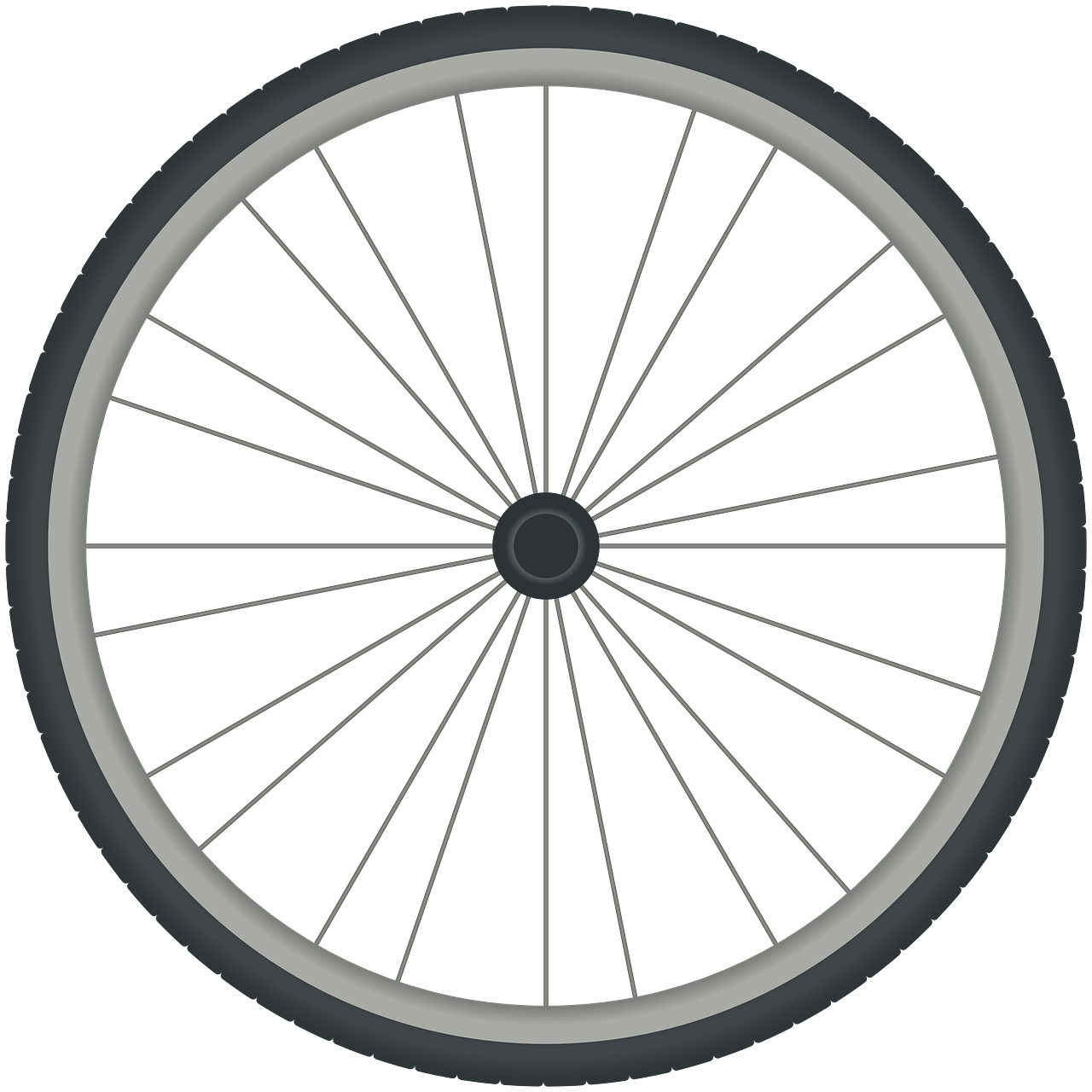 Bicycle wheel cycle tyre. Clipart bike bicyle