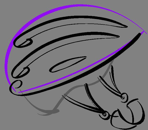 helmet clipart easy