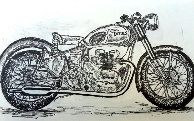 Clipart bike bike royal enfield. Motorcycle bullet