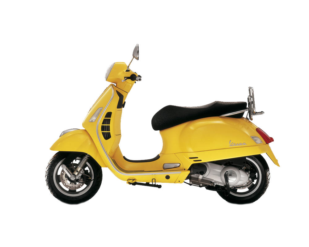 Vespa png transparent free. Scooter clipart retro scooter