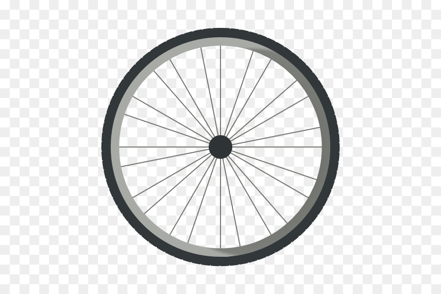 Circle frame bicycle tire. Wheel clipart transparent background