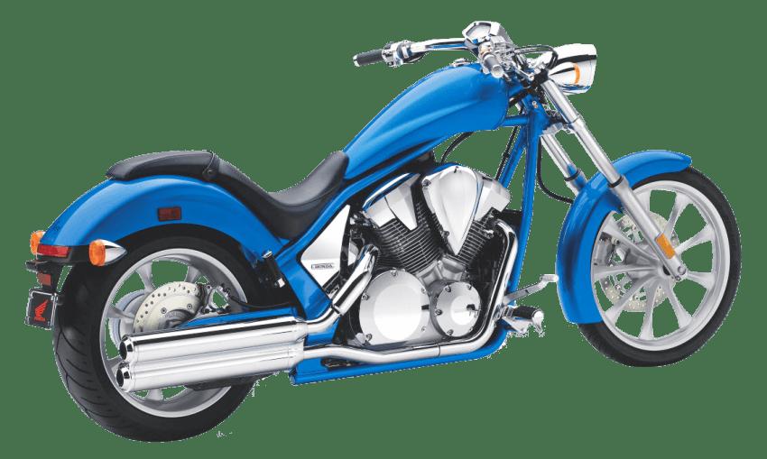 Motorcycle clipart blue motorcycle. Honda fury bike png