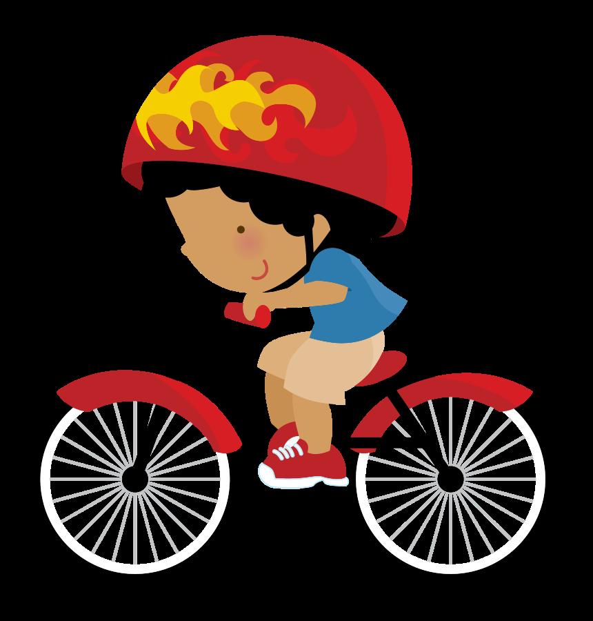 Clipart bike boy. Minus say hello ni