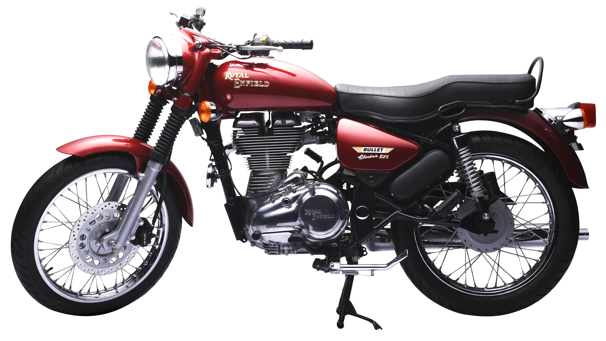 Motorcycle clipart bullet bike. Royal enfield electra efi