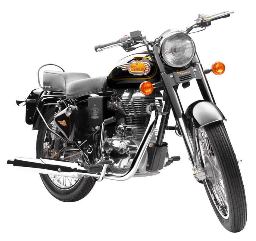 Motorcycle clipart bullet bike. Royal enfield png free
