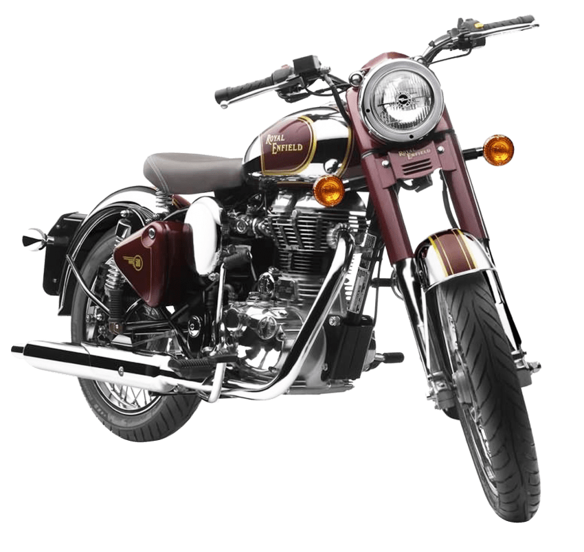 Royal enfield png free. Motorcycle clipart bullet bike