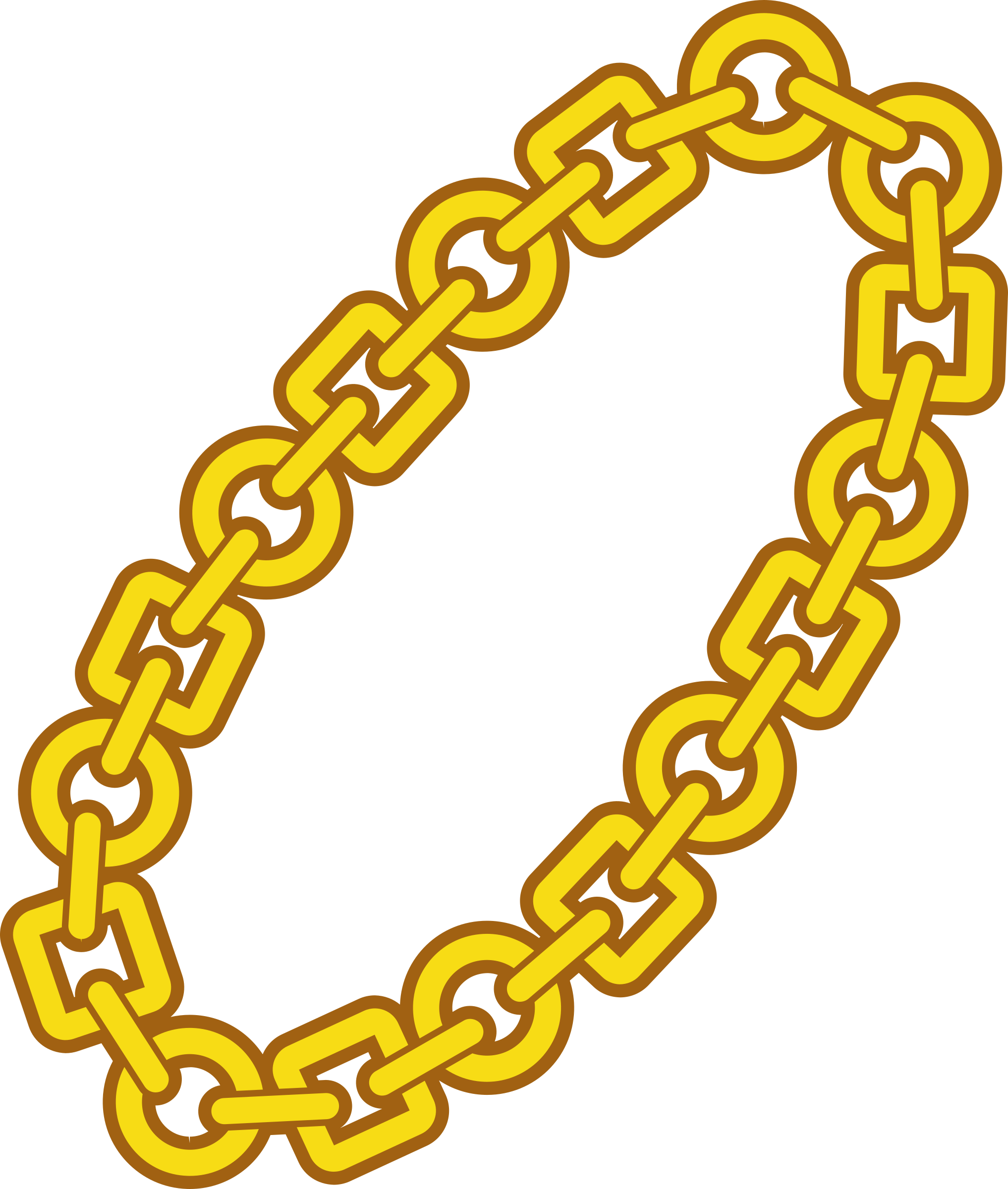 Spelling clipart chain. Ring icons png free