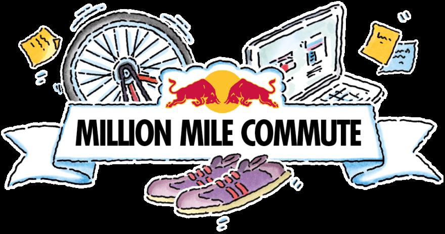 Goal clipart journey road. Red bull million mile